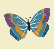 Vector illustration of beautiful butterfly by Ana Marques