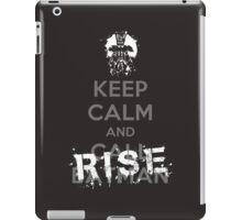 Keep Calm and Rise iPad Case/Skin