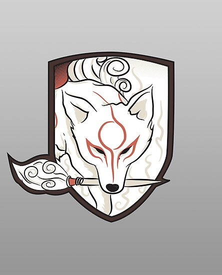 God Hound [Okami] without writing by Ruwah