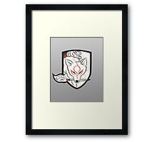 God Hound [Okami] without writing Framed Print