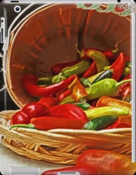 Painted Pepper`s i-Pad Case by ipadjohn