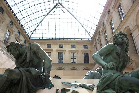 The Lourve - Sculptures by Neroli Henderson