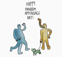 Happy Random Appendage Day by carljagt