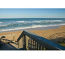 Down to the Beach  Photographic Print