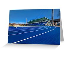 Until The Race Is Run Greeting Card