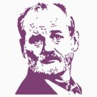 Bill Murray Pink by Thomas Jarry