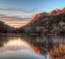 Sliver of Sunset by Bob Larson
