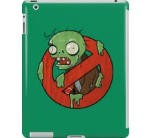 Zombie Buster iPad Case/Skin