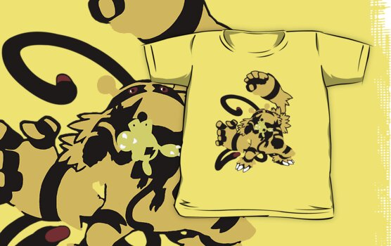 【10500+ views】Pokemon  Elekid>Electabuzz>Electivire by Ruo7in