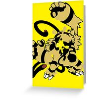 【16300+ views】Pokemon  Elekid>Electabuzz>Electivire Greeting Card