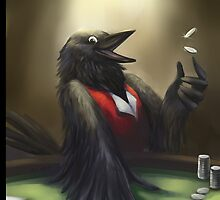 Crow player by jccat