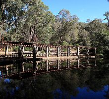 Roleystone,Araluen Botanic Garden's Lake by Tony Brown