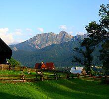 Koscielisko, Giewont Peaks by Tony Brown