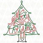 Merry Christmas Tree by rhysjenkinsgd