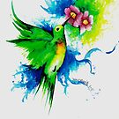Humming Bird by InklyDevine
