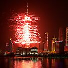 TV Tower Firework by Henry Jager