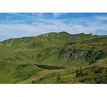 Mountain lake and Alps near Portlahorn, Austria Photographic Print
