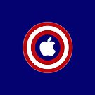 Apple Cap. America by Moiruccia