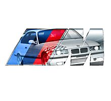 Bmw E36 M3 overlay Photographic Print
