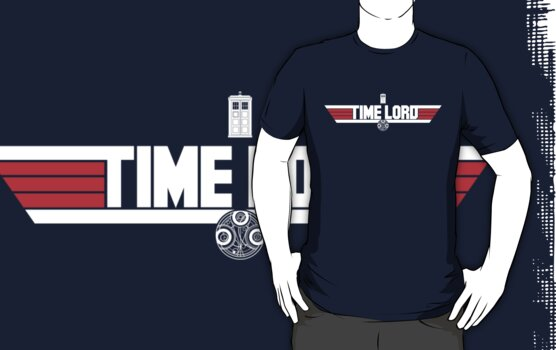 TIME LORD by geekchic  tees