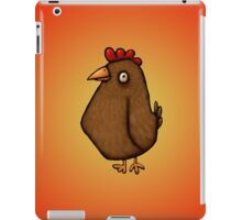 Red Chicken Standing Tall iPad Case/Skin
