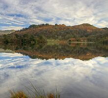 Rydal Water..Autumn by Jamie  Green