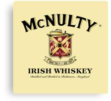 McNulty Irish Whiskey Canvas Print