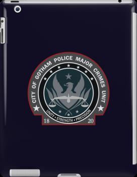 Gotham City Police Major Crimes Unit - Pocket Logo by Christopher Bunye