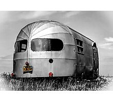 Classic Airstream Caravan.  Photographic Print
