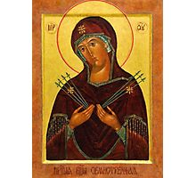 Eastern Orthodox Iconography the mother Photographic Print