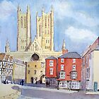 Lincon Cathedral by HurstPainters
