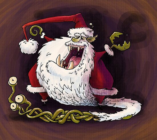 santa claws revisited by Bleee