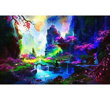 fantasy valley 4 Photographic Print