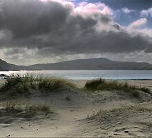 60N...At the St.Ninian's Isle Tombolo by Larry Lingard-Davis