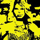 Taylor Swift Yellow Artwork  by Double-T