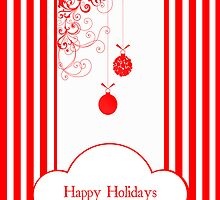 Happy Holidays (Candy Cane Version) by Denise Abé
