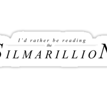 Reading the Silmarillion Sticker