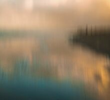 Blurry Kapiti Sunset by Barry Culling