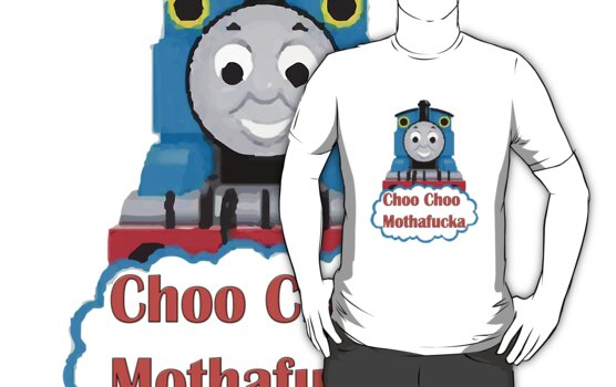 Thomas the Tank Engine - Choo Choo! by 18skydude
