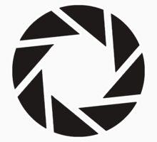 Aperture Sticker by Brenden Española