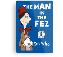 The Man In The Fez Metal Print