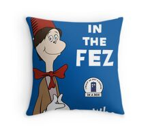The Man In The Fez Throw Pillow
