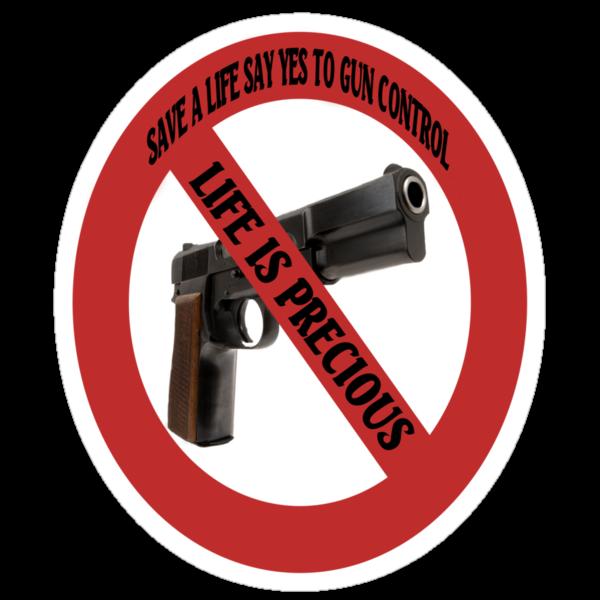 ☮ SAVE A LIFE SAY YES TO GUN CONTROL TEE SHIRT☮  by ╰⊰✿ℒᵒᶹᵉ Bonita✿⊱╮ Lalonde✿⊱╮