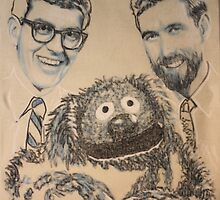 frank, jim, and rowlf by Peter Brandt