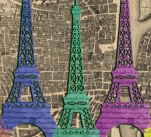 An Eye-full of Eiffel Sticker