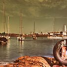 Wollongong Harbour by Ryan Conyers