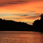 Beautiful sun-rise,Purnong,Murray River,S.A. by elphonline