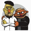 Bert & Ernie Mythbusters by bigredbubbles6