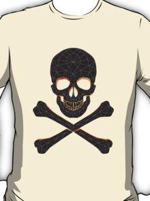 Skull and crossbones  danger warning  T-Shirt