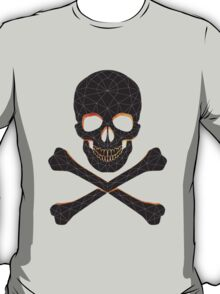 Skull and crossbones  danger warning  T-Shirt